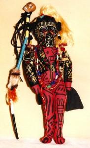 m_Black Zulu Carnival Doll