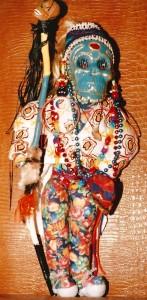 m_Blue Scarub Carnivall Doll