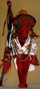 Easter Islander Carnival Doll