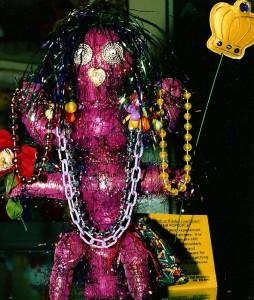 Hairy Pink Kookoo Totem