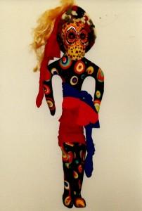Hindu Sun Carnival Doll