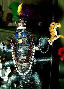 Lizzard King KooKoo Totem