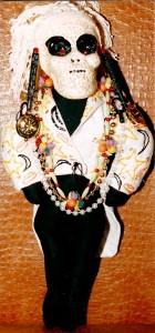 Pale Alien Carnival doll