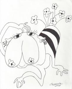 m_Flower Bee