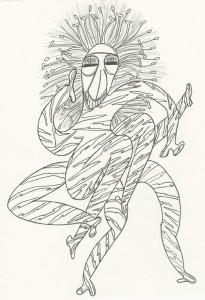 m_Hair Razor Spider