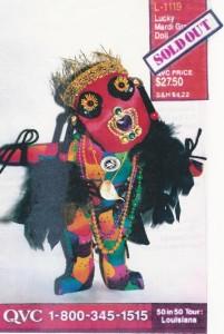 m_2 QVC Mardi Gras Doll