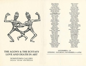 m_5 Agony & Ecstacy Downtown Gallery