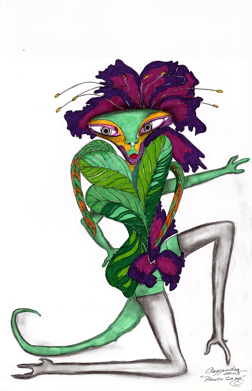 Flower Geko c